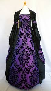 gothic dress medieval gown pagan costume by djmedievaldresses my
