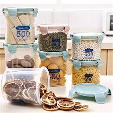 boite rangement cuisine multifonction boîtes en plastique transparent boîtes scellées bac
