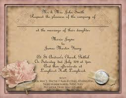 vintage style wedding invitations free diy vintage wedding invitation templates weddingplusplus