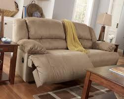 Reclining Sofa Microfiber by Hogan Mocha Reclining Living Room Set From Ashley 57802