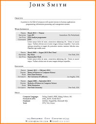Lebenslauf Vorlage Usa 9 Vorlage Cv Resignation Format