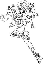 monster high coloring pages coloringsuite com