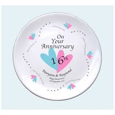 16th wedding anniversary gifts sixteenth wedding anniversary gifts gift ideas bethmaru