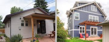 pop tops studiohoff architecture denver colorado residential this small bungalow originally only 619 sq ft is located in a dense downtown neighborhood the detailing of the new structure combined with the exposed