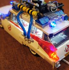 Blinky Lights Pimp Your Lego Ghostbusters Ecto 1 21108 With Led Blocks Geek