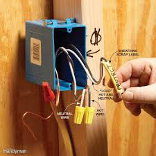 fishing electrical wire through walls family handyman