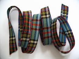 tartan ribbon scottish wool plaid tartan ribbon