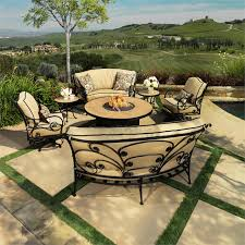 Outdoor Firepit Tables Ow Patio Furniture Gas Pit Patio Sets Pit Sets