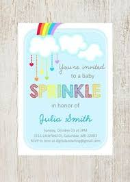 what is a sprinkle shower custom sprinkle baby shower invitation digital print sprinkles