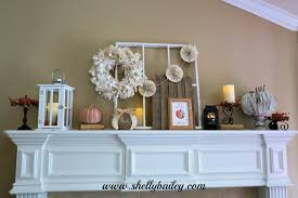 shelly bailey fall mantel 2015 and home decor video tour