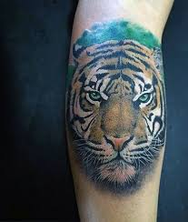 small masculine tiger designs small tiger tattoos
