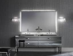 bathroom mirror on mirror bathroom custom framed mirrors brushed