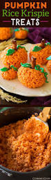 pumpkin rice krispie treats such a fun and easy fall treat my
