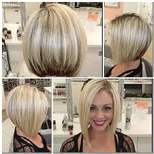 asymetrical ans stacked hairstyles blonde asymmetrical bob hairstyle for women man