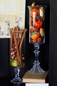 make your own hurricane vases by re purposing candle stick holders