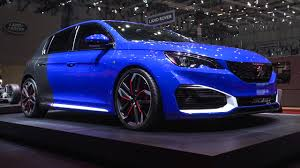 2017 peugeot cars peugeot 308 r 500hp hybrid concept 2016 geneva motor show