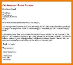 thank you letter after acceptance sle cover letter templates
