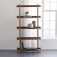 tall corner bookcase bookshelves at target ladder bookcase with drawers brown monarch