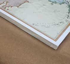 What Height To Hang A Picture Mount And Hang Large Maps With Ease So Much To Make