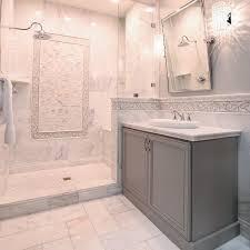 White Marble Tile Bathroom Design Carrara Marble Tile White - Carrara marble bathroom designs