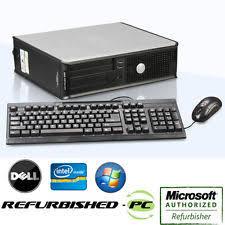 Dell Desk Computers 4gb Dell Optiplex 760 Pc Desktops All In One Computers Ebay