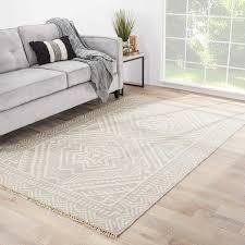Area Rugs 9 X 12 Sera Handmade Geometric Gray Off White Area Rug 9 U0027 X 12 U0027 Free