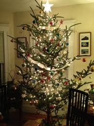 old fashioned christmas tree holiday decor pinterest