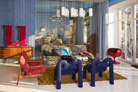 au ergew hnliche wandgestaltung gallery of wohnzimmer sessel retro raum und m beldesign
