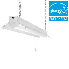 T5 Fluorescent Grow Lights Home Depot by Commercial Electric 4 Ft Bright Cool White Integrated Led