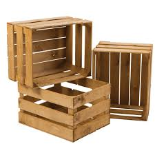 wooden display crate