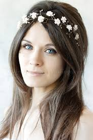 floral headband bridal headbands floral headband for brides hairstyles for