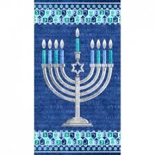 winnie the pooh menorah stonehenge happy hanukkah ethelbird eliza kids fabric