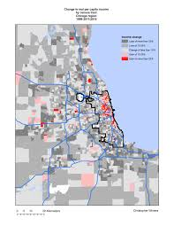 Map Chicago Suburbs by The Recent Geography Of Gentrification In Chicago Liberal Landscape