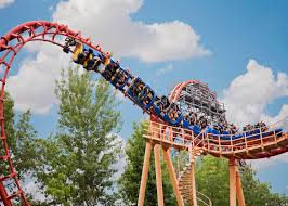 Six Flags Great Adventure Map All Rides Six Flags New England