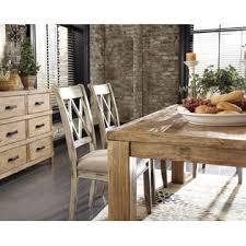 ashley mestler dining room furniture modern framed back dining