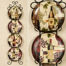 Dining Room Plate Sets by Bella Vino Decorative Ceramic Plate Set