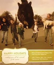 best christmas card of 2011 the meta picture