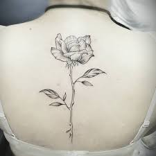 rose tattoo at the back danielhuscroft com