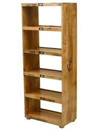 Natural Wood Bookcases Wood Bookcase Open Back Thesecretconsul Com