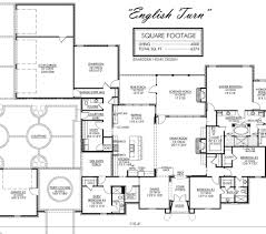 Country Homes Floor Plans by Madden Home Design The English Turn