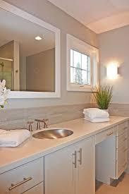 Contemporary Bathroom Wall Sconces Roma Tile For A Contemporary Bathroom With A Wall Sconce And