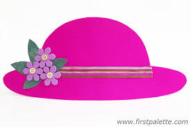 Easter Hat To Decorate by Easy Paper Hat Craft Kids U0027 Crafts Firstpalette Com