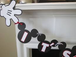 baby mickey mouse baby shower boy banner jpg