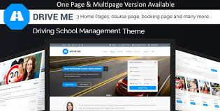 html online class driveme driving class school html template with rtl by jthemes