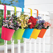 self watering vertical planters over balcony planters viva self watering balcony railing planter