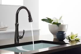Kitchen Faucets Oil Rubbed Bronze Finish by A New Take On An Artisan Finish Oil Rubbed Bronze
