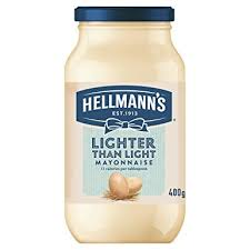 hellmans light mayo nutrition hellmanns hellmann s lighter than light mayonnaise 400g 400g