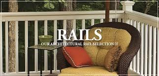 deck railing porch railing vinyl railing railing systems