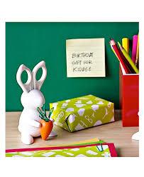 accessoire bureau original desk bunny lapin porte ciseaux trombones accessoire bureau original