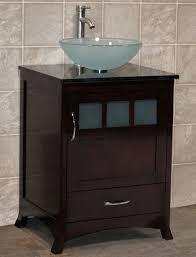 24 Bathroom Vanity With Drawers 24 Bathroom Vanity Cabinet Black Granite Top With Glass